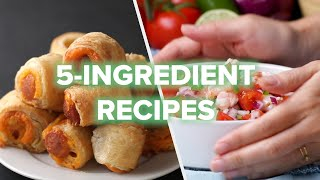 5 Recipes Using OΝLY 5 Ingredients • Tasty Recipes