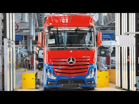 🔴 Mercedes Actros Production