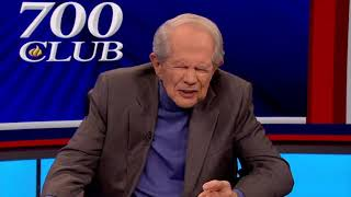 Pat Robertson Cures Cancer On LIVE Television (SMH)