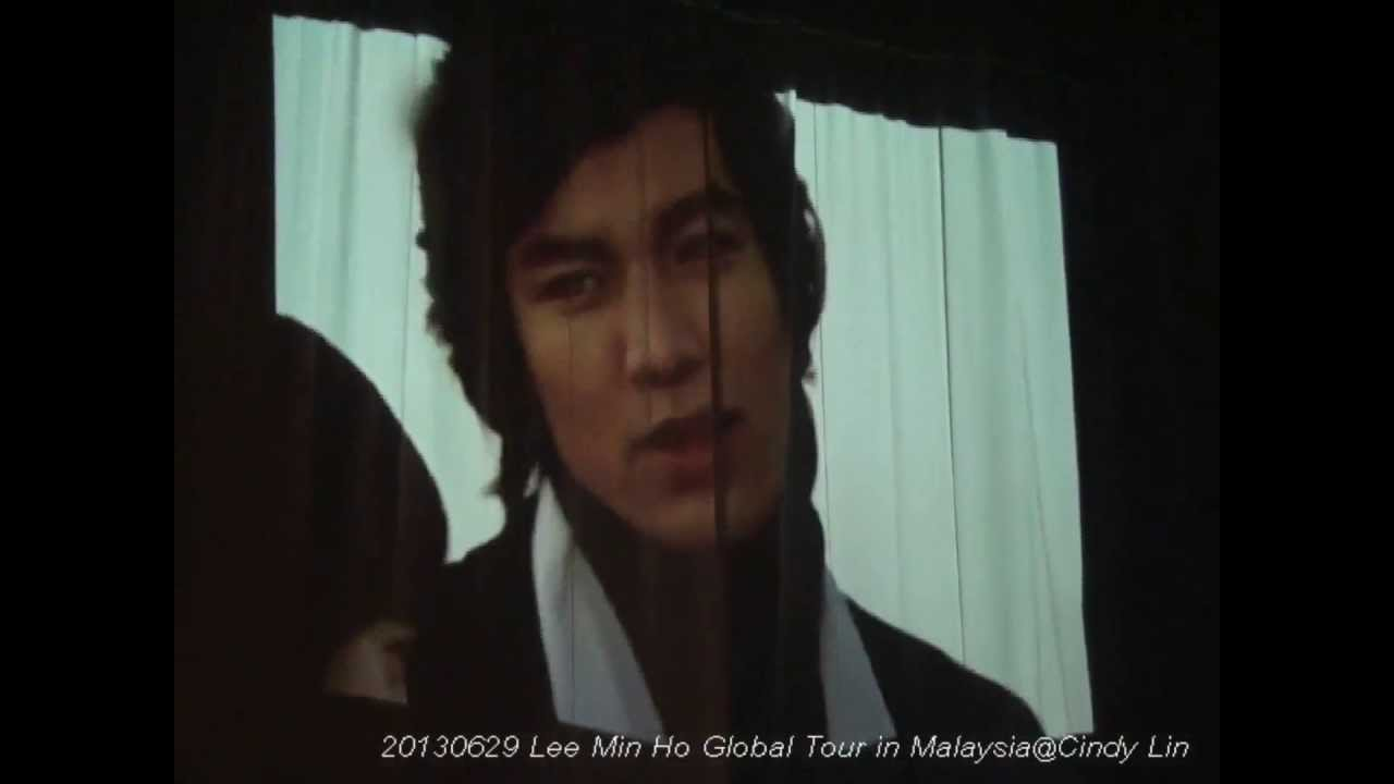 """20130629 Lee Min Ho """"My Everything"""" Global Tour in Malaysia-opening"""