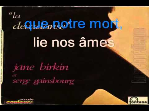 Serge Gainsbourg & Jane Birkin_La décadanse (1971)