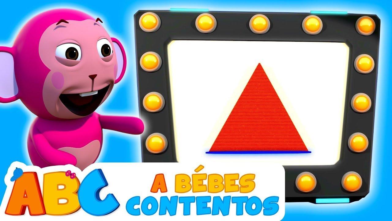 ABC Español   La Canción de las Formas - Aprende Cantando y Jugando