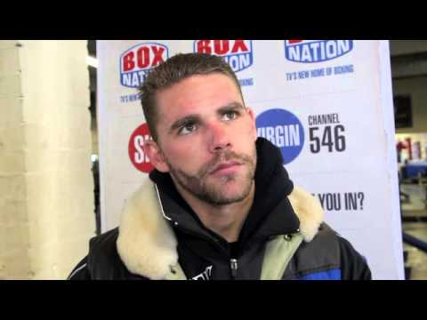 BILLY JOE SAUNDERS TALKS MATTHEW HALL, JOHN RYDER & THE MIDDLEWEIGHT THREE / iFILM LONDON