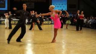 WDSF Worldchampionship 10-Dance First round Latin / RUMBA