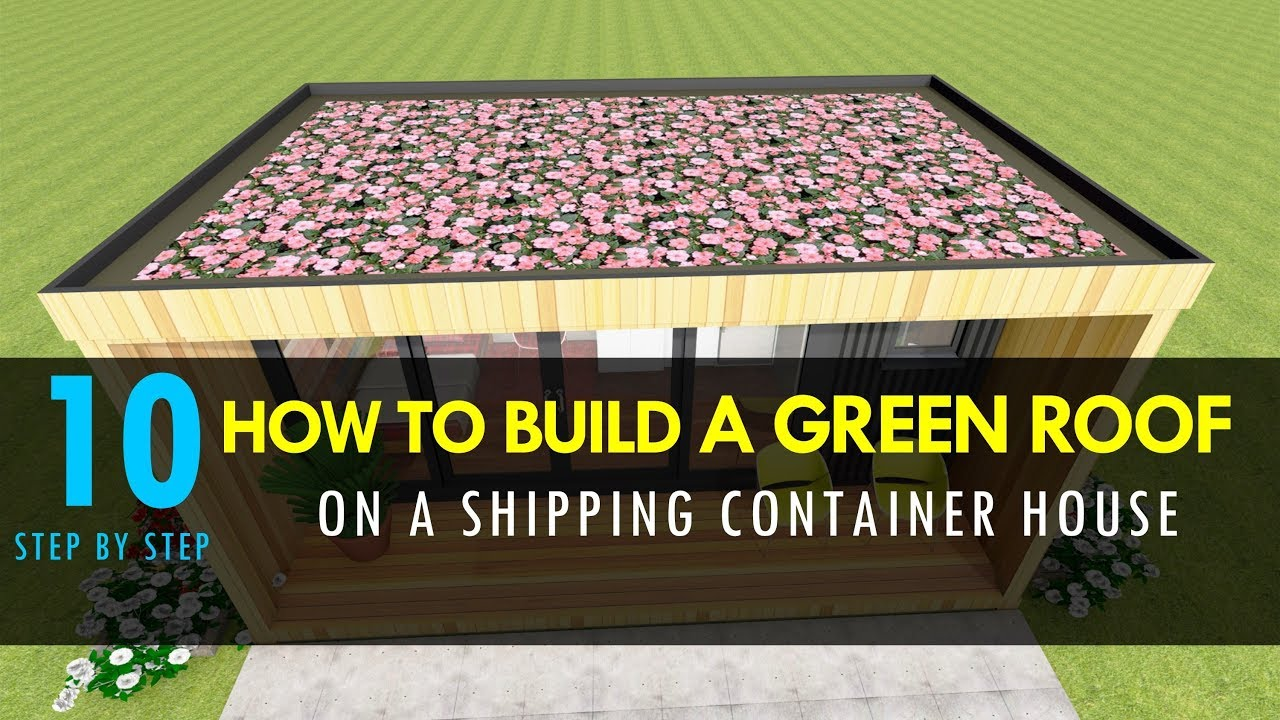 shipping container house how to build