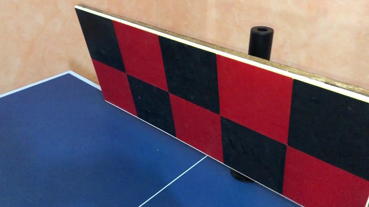 DIY Ping Pong Rebounder
