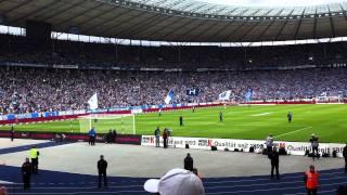 Nur nach Hause gehn wir nicht - Frank Zander LIVE - Hertha - Augsburg