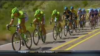 Tour of California 2014 - stage 5 - descent of San Marcos Pass