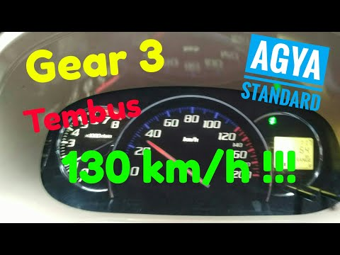 Top speed agya ayla #Gear 1~4