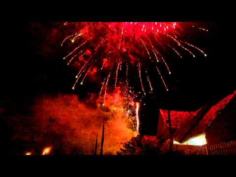 Fogos de Ano novo - Av. Mandacaru - Maringá
