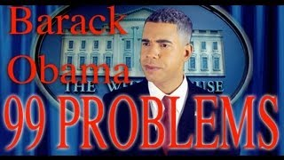 99 problems but mitt ain t one obama rally