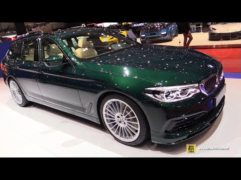 2019 BMW Alpina B5 Bi Turbo Touring AWD - Exterior and Interior Walkaround - 2019 Geneva Motor Show