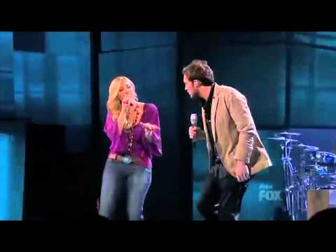 Elise Testone ft Phillip Phillips - Stop Draggin' My Heart Around