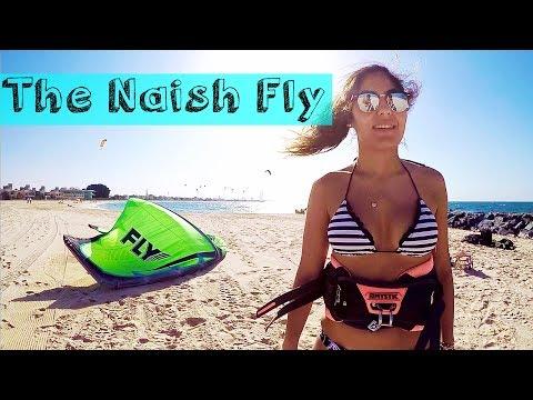 Kitesurfing the Naish Fly in Dubai