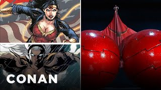 Conan Battles Comic Book Gender Inequality  - CONAN on TBS