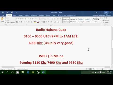 3 Easy to hear stations to try this weekend on Shortwave radio