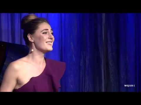 "Sydney Mancasola sings Bellini's ""La Ricordanza"""