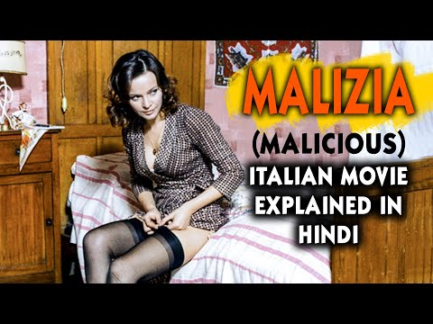 Italian Film Malizia (1973) Explained in Hindi | Malicious | Laura Antonelli | 9D Production indir