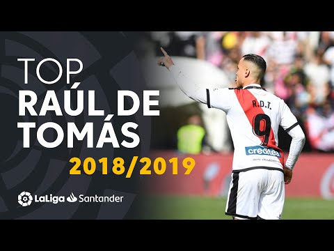TOP Moments Raúl de Tomás LaLiga Santander 2018/2019