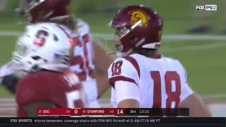 Football: USC 3, Stanford 17 - Highlights 9/8/2018