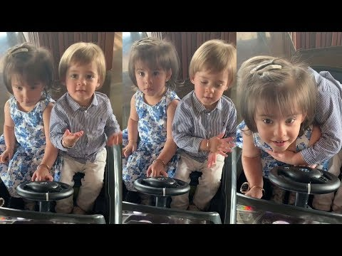 Karan Johar's Babies Yash & Roohi's Fun & Cute Moments With Papa Karan