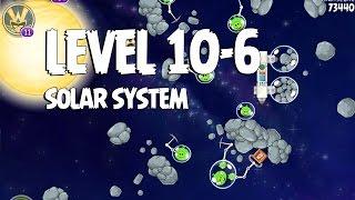 Angry Birds Space Solar System 10-6 Walkthrough 3-Star