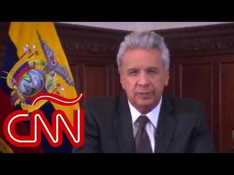 Lenín Moreno anuncia que Ecuador se retira definitivamente de Unasur