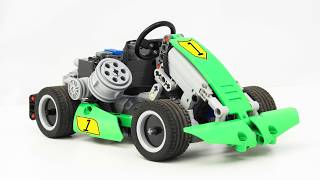 Fast LEGO RC Karting with BuWizz ! (with Building Instructions)