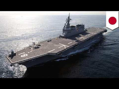 Japan to get aircraft carriers for U.S. F-35 stealth jets  - TomoNews