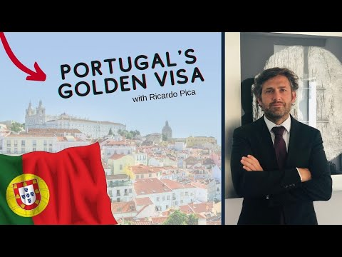 How to get the golden visa in Portugal 🇵🇹 in 2021 with Ricardo pica a lawyer in Portugal