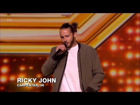 Ricky John Auditions Full Clip S15E05 The X Factor UK 2018