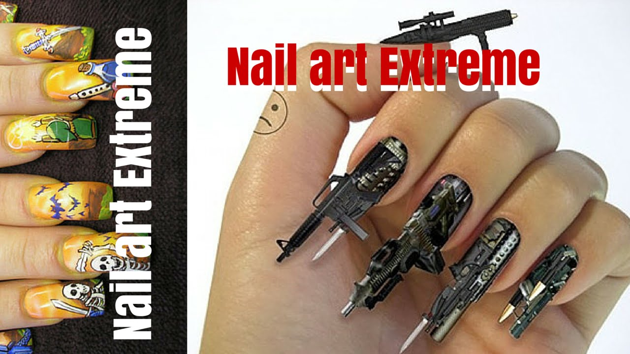 Nail Art Extreme! - YouTube