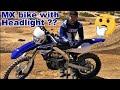 Can Yamaha WR450F handle Motocross Track??