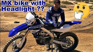 Can Yamaha WR450F handle Motocross Track??