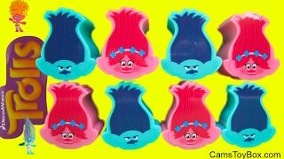 Dreamworks Trolls Blind Bags Series 4 3 2 1 Poppy Branch Heads Names Surprise Toys Kids Fun Play