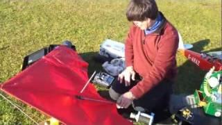 Motorized Rogallo (hang glider) build — MyVideo