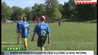 ECHIPA DIN DRAGU S A CLASAT PE LOCUL 6 LA OINĂ, LA NIVEL NAȚIONAL