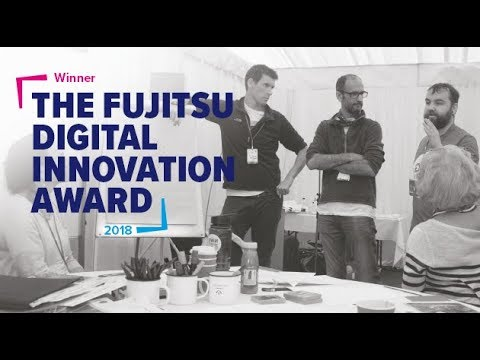 Northumbrian Water win the Fujitsu Digital Innovation Award