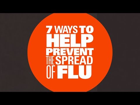 7 ways to help prevent flu germs from spreading