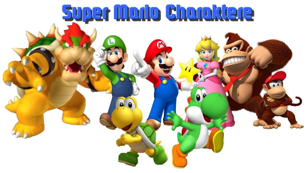 Super Mario Charaktere