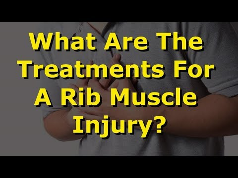 What Are the Treatments for a Rib Muscle Injury?