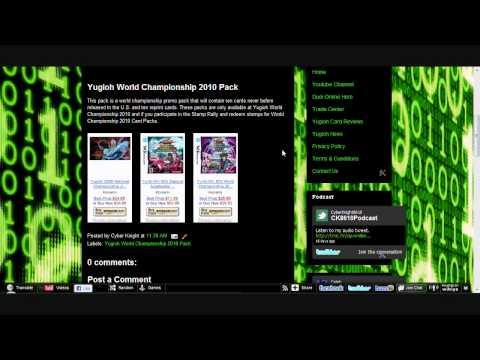 Yugioh World Championship 2010 Pack [HD]