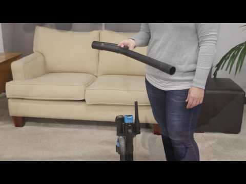 How to Use the PowerForce Compact Upright Vacuum   BISSELL