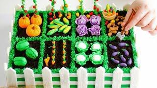 Yummy Vegetable Garden CAKE!