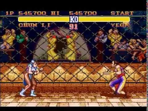 Street Fighter Ii The World Warrior Snes Chun Li Hardest
