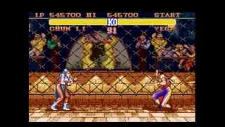 Street Fighter II - The World Warrior (SNES) - Chun-Li (Hardest)