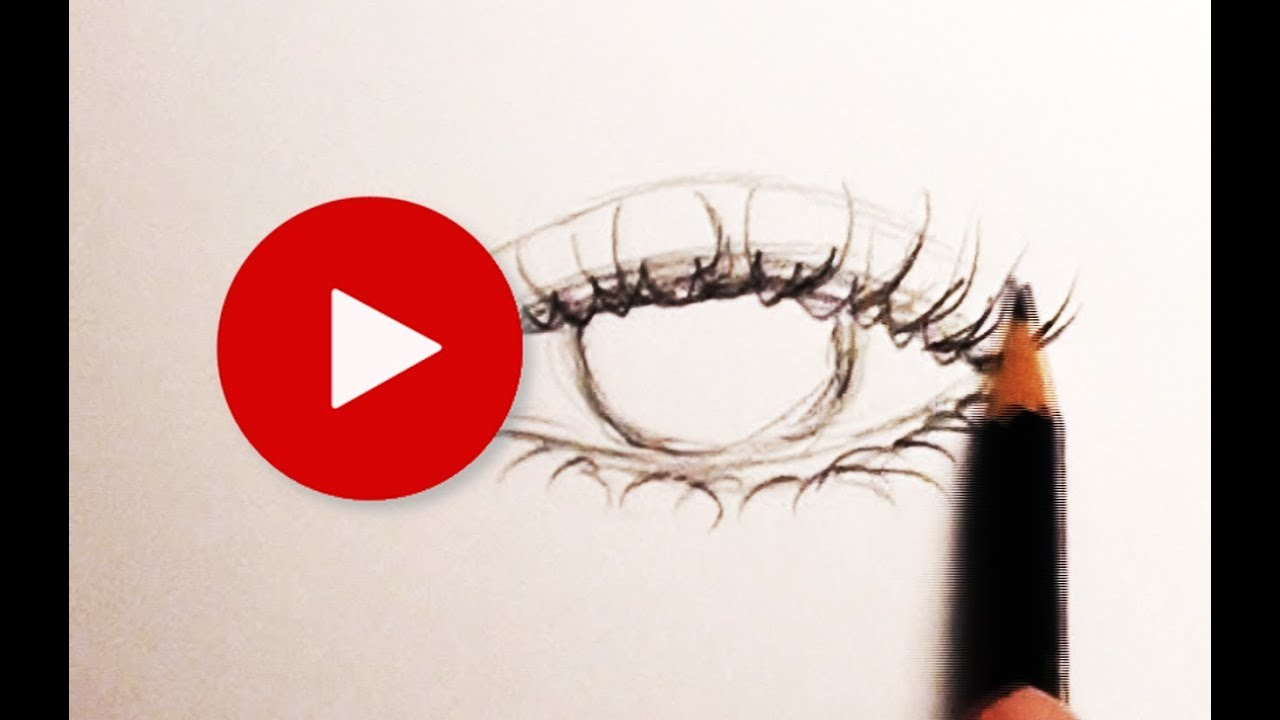 How to Draw Eyelashes    Tips   Tricks 11   YouTube