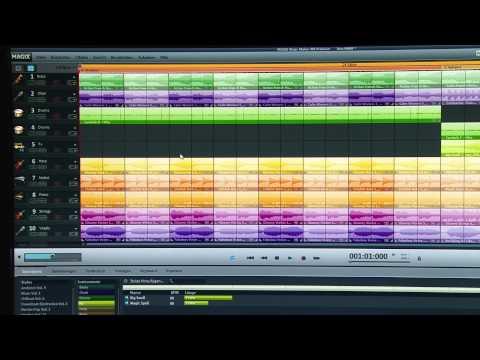 Filmmusik mit Magix Music Maker selbst erstellt. (Übersicht)