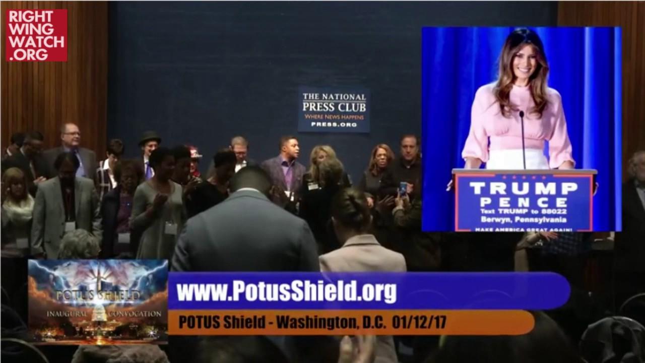 RWW News: 'POTUS Shield' Prayer For Melania Trump