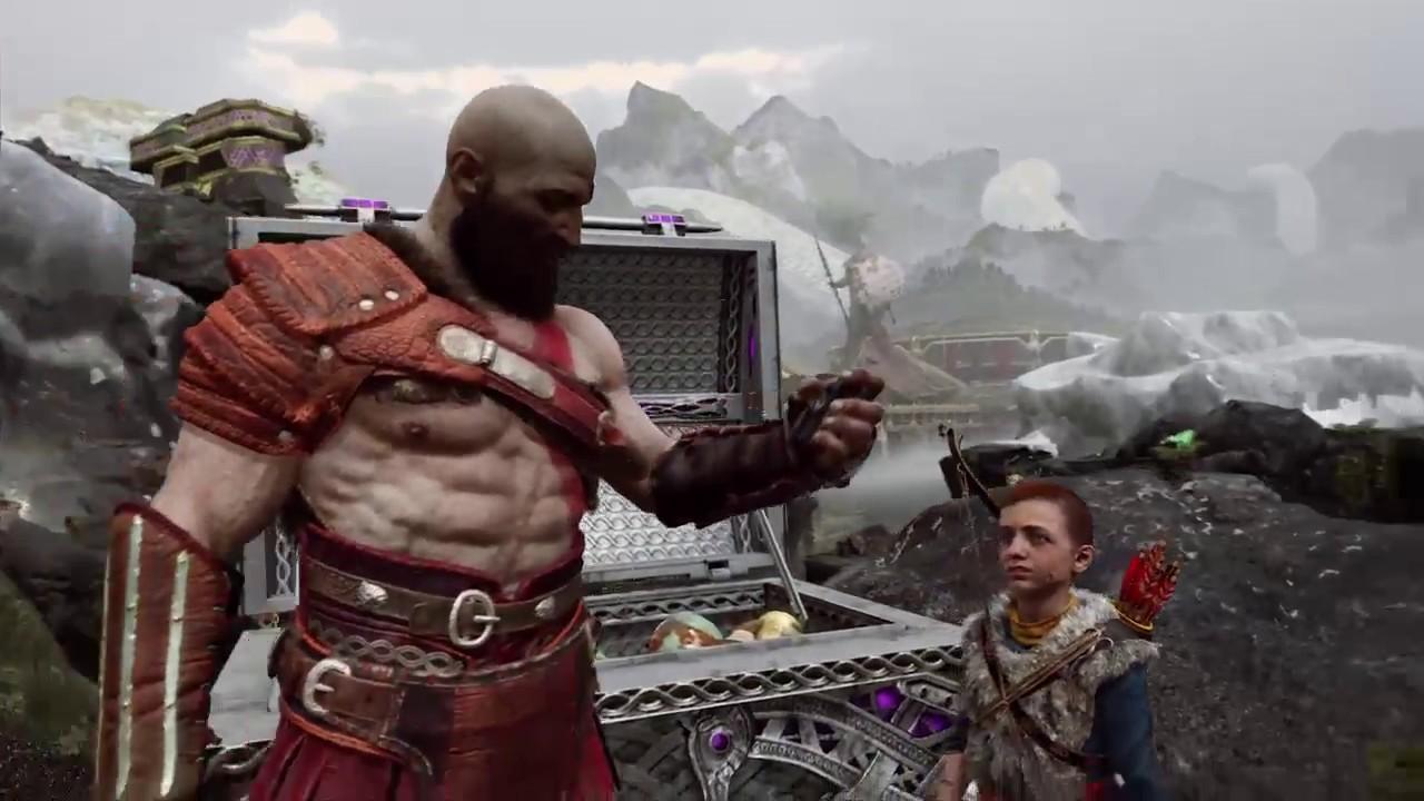 God of War 07 戰神父與子的冒險故事 - YouTube